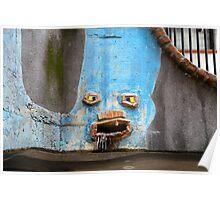 Faces of the Hundertwasserhaus Poster
