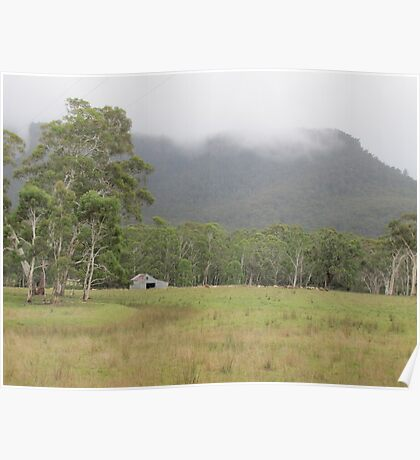 Rural Australia, Megalong Valley Poster