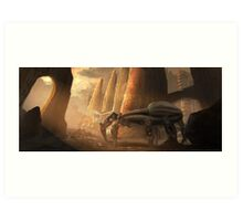 Another Dune Concept Art Print