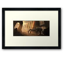 Another Dune Concept Framed Print