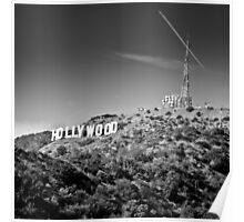 Hollywood Sign Poster