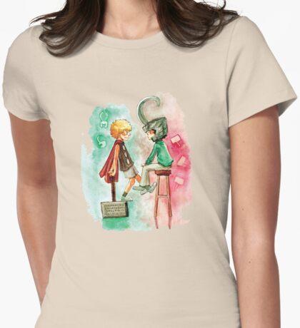 Little Asgard Womens Fitted T-Shirt