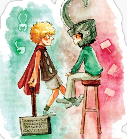 Little Asgard Sticker