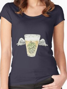Hops Women's Fitted Scoop T-Shirt