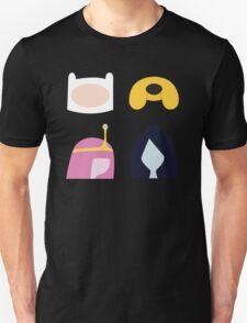 Simplistic Dudes and Dudettes T-Shirt