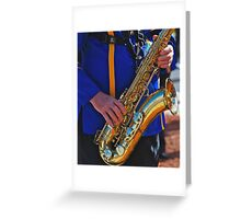 Music Maker-Canberra parade Greeting Card