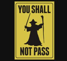 You Shall Not Pass by Josch95