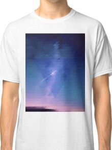 Geometric Triangle Sky Classic T-Shirt
