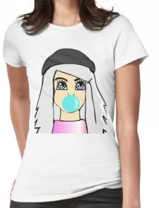 BubbleYum Womens Fitted T-Shirt