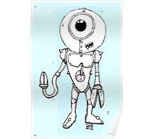 Robo Blue Poster