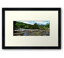 Falls of Dochart Framed Print