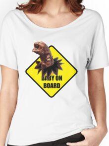 Alien On Board Women's Relaxed Fit T-Shirt