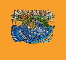 Surf Dawg in paradise. T-Shirt