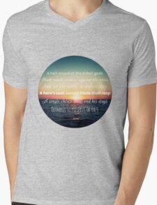 Percy Jackson Prophecy Sunset Mens V-Neck T-Shirt