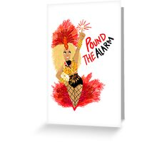Pound the ALARM! Greeting Card