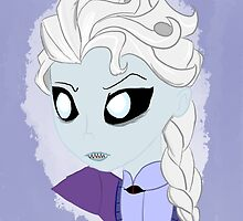 Undead Snow Queen by zekroraptor