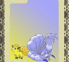 Vulpix/Ninetales Shiny by stargirl1311