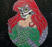 Sugar Skull Ariel by KittyOG1