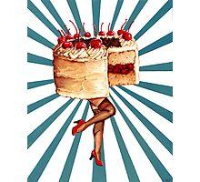 Cake Walk Photographic Print