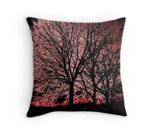 Glowing... Throw Pillow