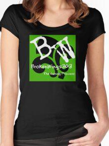 BrokenWings303 Logo - Guy Version Women's Fitted Scoop T-Shirt