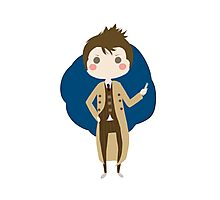 10th Doctor chibi Photographic Print