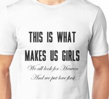 Lana Del Rey This Is What Makes Us Girls Unisex T-Shirt