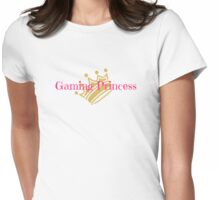 Gamer Princess Womens Fitted T-Shirt