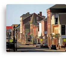 Yarmouth Main Street in the Sunshine Canvas Print