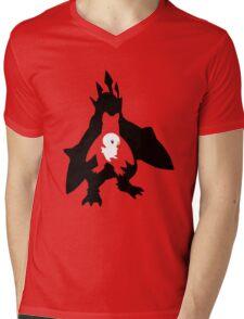 Penguin Evolution Mens V-Neck T-Shirt