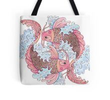 Koi Pair Tote Bag