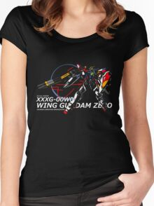 Wing Zero: Z.E.R.O. System Women's Fitted Scoop T-Shirt