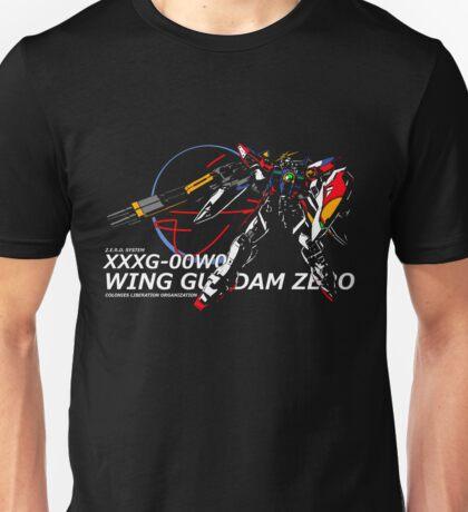 Wing Zero: Z.E.R.O. System Unisex T-Shirt
