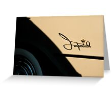 5057_Imperial Logo with Crown and White Walls Greeting Card
