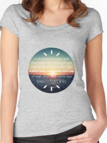 Percy Jackson Prophecy Sunset 2 Women's Fitted Scoop T-Shirt