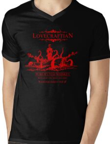 Lovecraftian - R'lyeh Whiskey Red Label Mens V-Neck T-Shirt