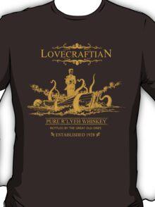 Lovecraftian - R'lyeh Whiskey Gold Label T-Shirt