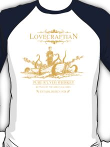 Lovecraftian - R'lyeh Whiskey Gold Label T-Shirt
