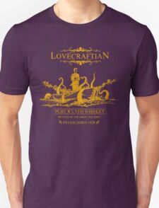 Lovecraftian - R'lyeh Whiskey Gold Label Unisex T-Shirt