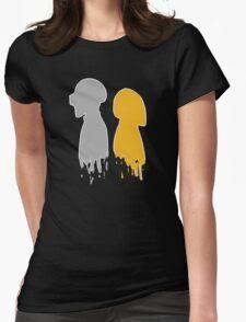 Minimalistic Punks Womens Fitted T-Shirt