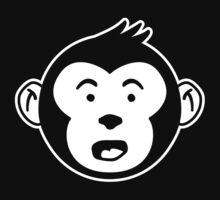 Surprised Monkey Baby Tee