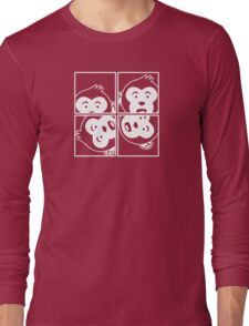 Surprised Monkey - Photo Booth Long Sleeve T-Shirt