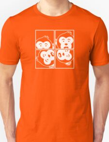 Surprised Monkey - Photo Booth T-Shirt