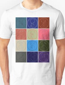 The Names of The Doctor Unisex T-Shirt