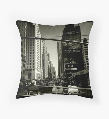 New York- Part 1 Throw Pillow