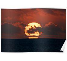 Sunset Cable Beach WA Poster