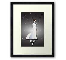 Zodiaque - Aries Framed Print