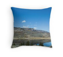 Reflection in a Lake Throw Pillow