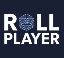 Roll Player Blue d20 by NaShanta