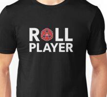 Roll Player Red d20 Unisex T-Shirt